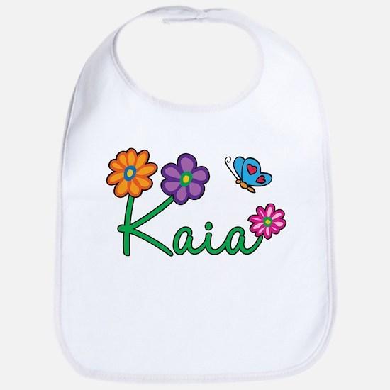 Kaia Flowers Bib