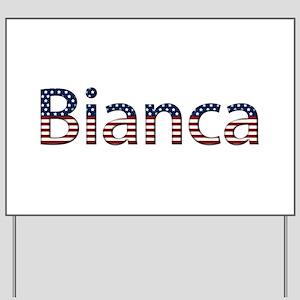 Bianca Stars and Stripes Yard Sign