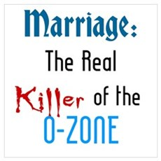 Marriage and the O-Zone Poster