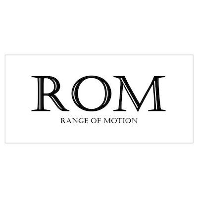Range of Motion Poster