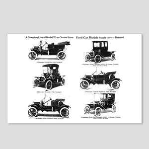 Ford Model T - 1911 Ad Postcards (Package of 8)