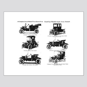 Ford Model T - 1911 Ad Small Poster