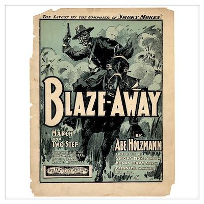 Blaze Away Poster