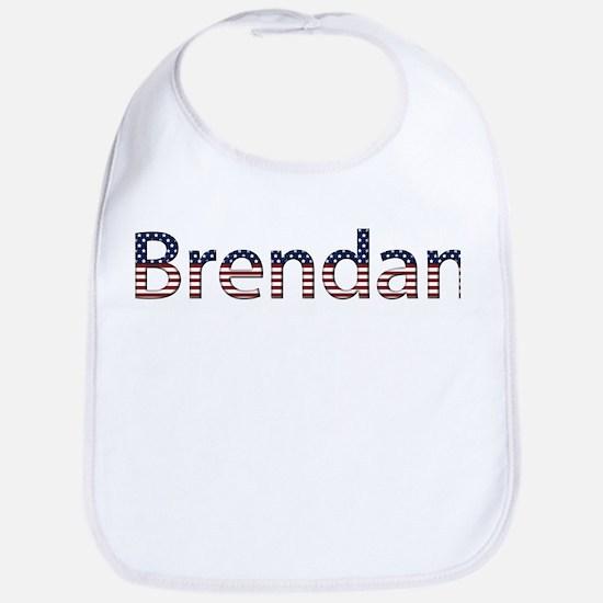 Brendan Stars and Stripes Bib
