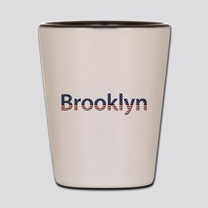 Brooklyn Stars and Stripes Shot Glass