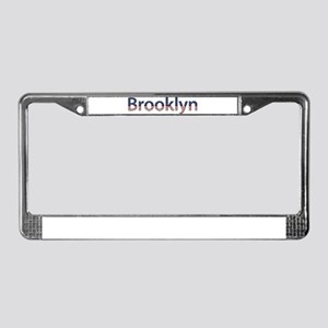 Brooklyn Stars and Stripes License Plate Frame