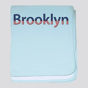 Brooklyn Stars and Stripes baby blanket