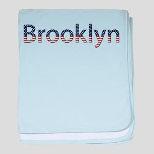 Brooklyn Stars and Stripes baby blanket