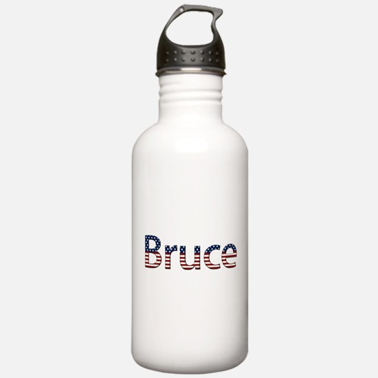 Bruce Stars and Stripes Water Bottle