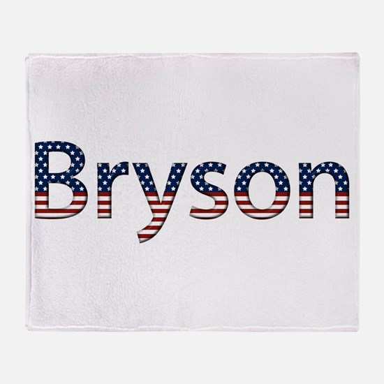 Bryson Stars and Stripes Throw Blanket