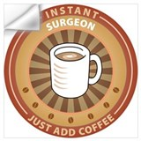 Funny surgeon Wall Decals