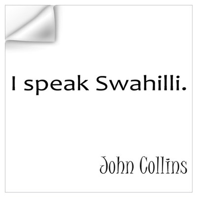 Swahilli Wall Decal