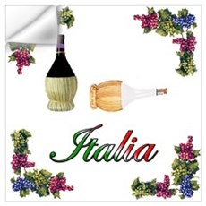 Italia Wine Wall Decal