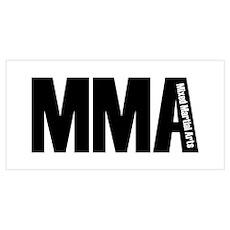 MMA - Mixed Martial Arts Poster