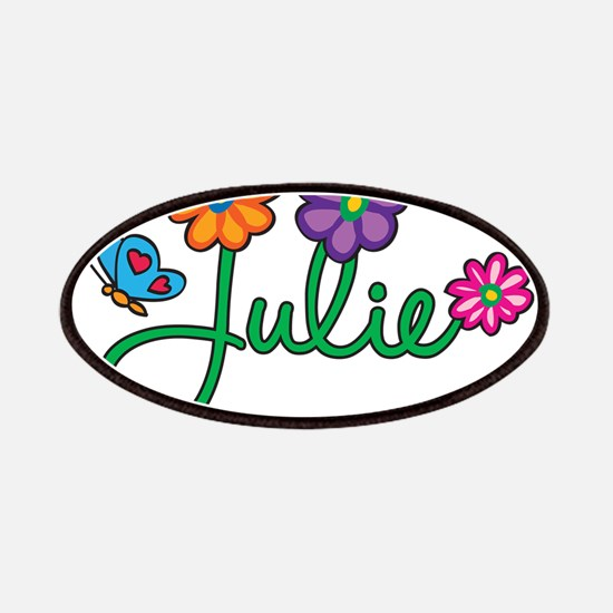 Julie Flowers Patches