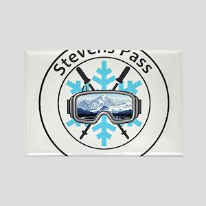 Stevens Pass Ski Area - Stevens Pass - W Magnets