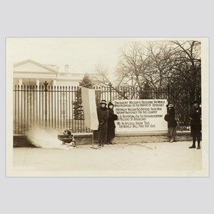 NWP Watch Fire White House PIckets