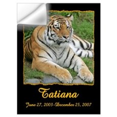 Tatiana the Tiger Wall Decal