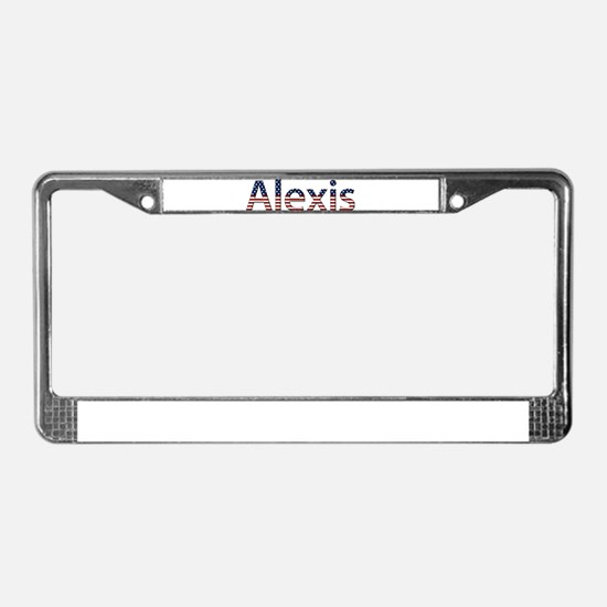 Alexis Stars and Stripes License Plate Frame
