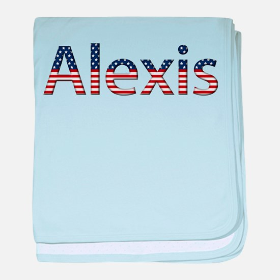 Alexis Stars and Stripes baby blanket