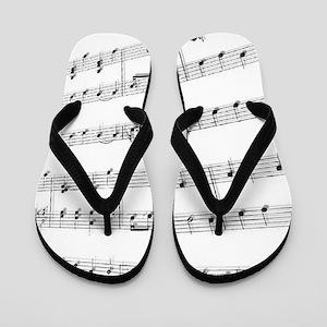 Sheet Music Flip Flops