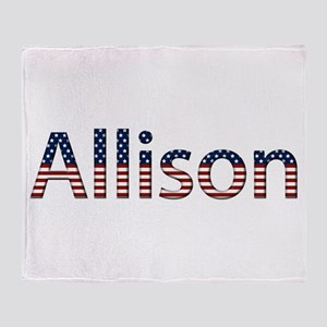 Allison Stars and Stripes Throw Blanket