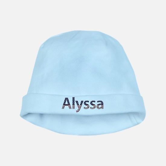 Alyssa Stars and Stripes baby hat
