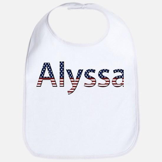 Alyssa Stars and Stripes Bib