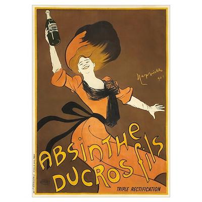 Absinthe Ducros Poster