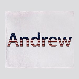 Andrew Stars and Stripes Throw Blanket