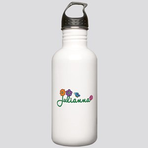 Julianna Flowers Stainless Water Bottle 1.0L