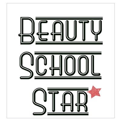 Beauty School Star Framed Print