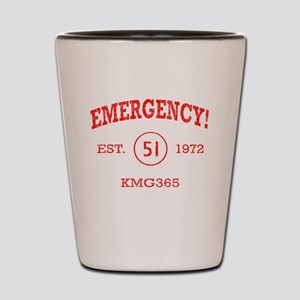 EMERGENCY! Squad 51 Vintage Shot Glass
