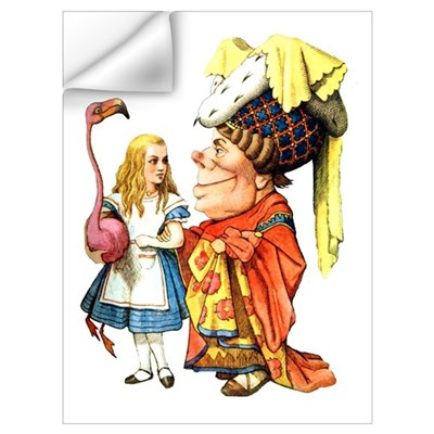 ALICE & THE DUCHESS Wall Decal