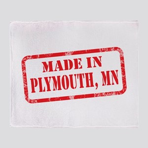 MADE IN PLYMOUTH, MN Throw Blanket