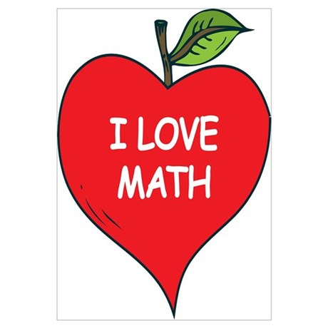 heart apple i love math poster shopping clip art pictures shopping clipart png