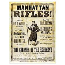 Manhattan Rifles Poster