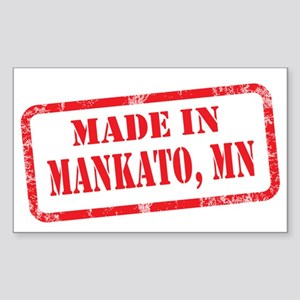 MANKATO, MN Sticker (Rectangle)