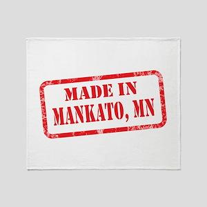 MANKATO, MN Throw Blanket