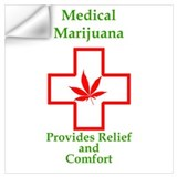 Marijuana Wall Decals