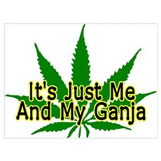 Me And My Ganja Framed Print