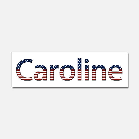 Caroline Stars and Stripes 10x3 Car Magnet