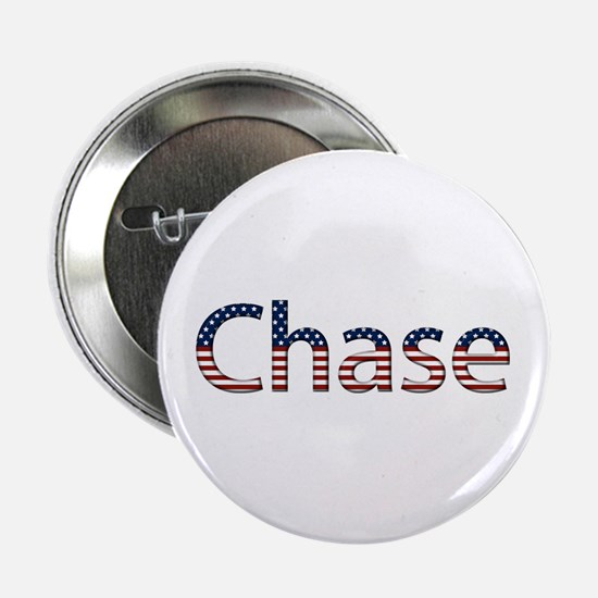 Chase Stars and Stripes Button