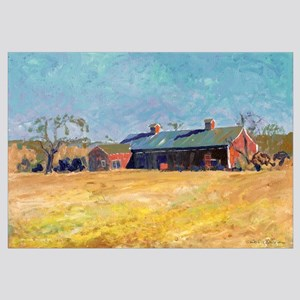 Country Red Barn