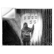 Palestine in Jail Wall Decal