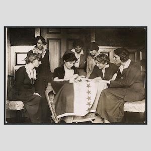 Alice Paul Suffrage Flag