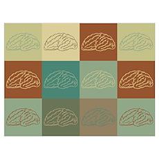 Neuroscience Pop Art Poster