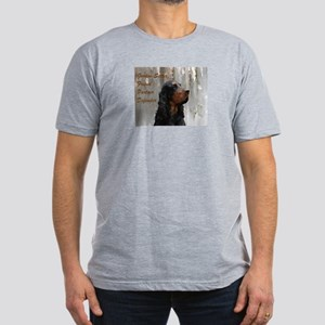 Gordon Setter Men's Fitted T-Shirt (dark)