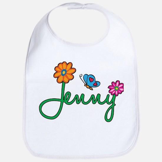 Jenny Flowers Bib
