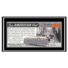 """1949 Trailer Ad"" Poster"
